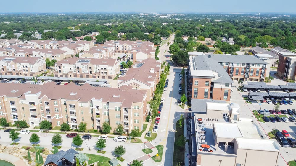 Master planned community with condos