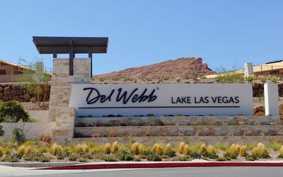 Dell Webb community entrance